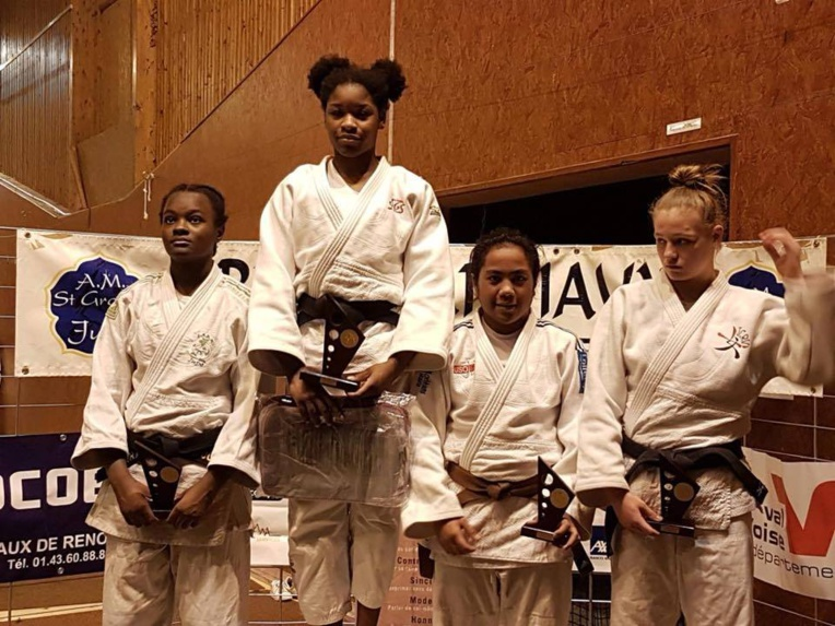 Poerava Temakeu, 15 ans, s'est offerte un podium en métropole