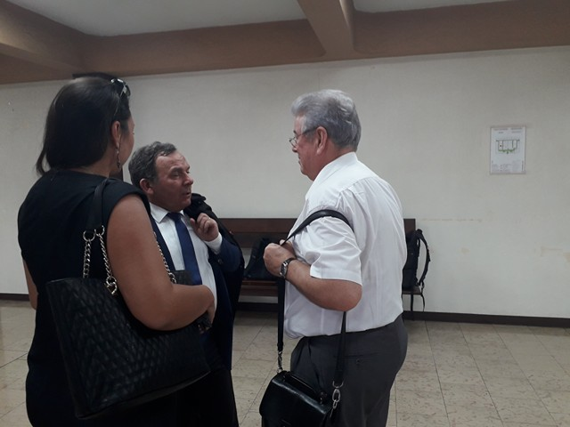 Me Szpiner, conseil de la SCI Toofa et Me Froment-Meurice, avocat de l'OPH.