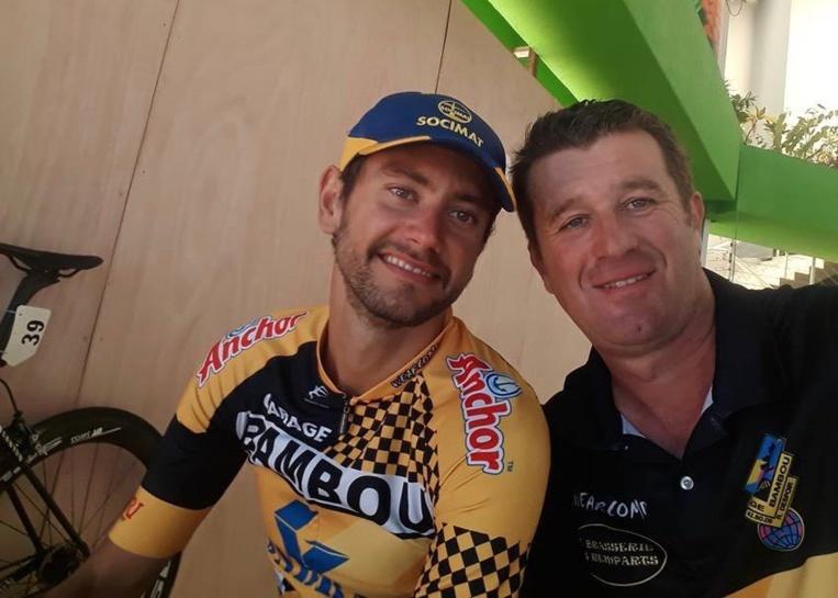 Benoit Rivals, à droite, avec Thomas Peyroton