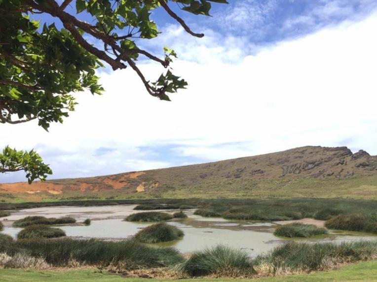 Sècheresse historique  à l'île de Pâques