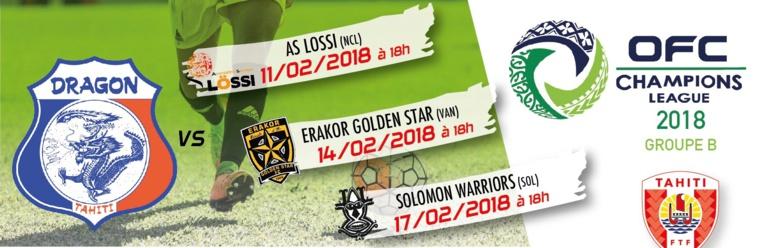Le premier match aura lieu dimanche au stade Pater