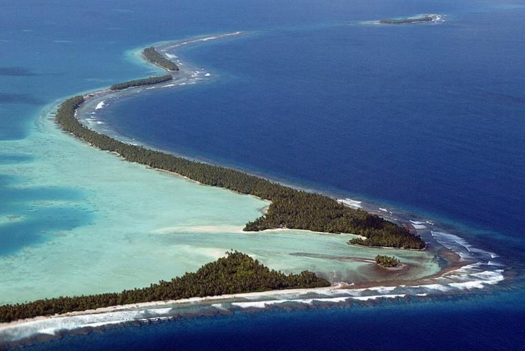 Plutôt que de couler, un archipel du Pacifique s'agrandit