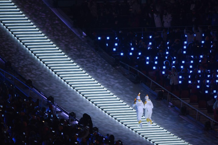 JO-2018 - Les deux Corées main dans la main pour ouvrir les Jeux