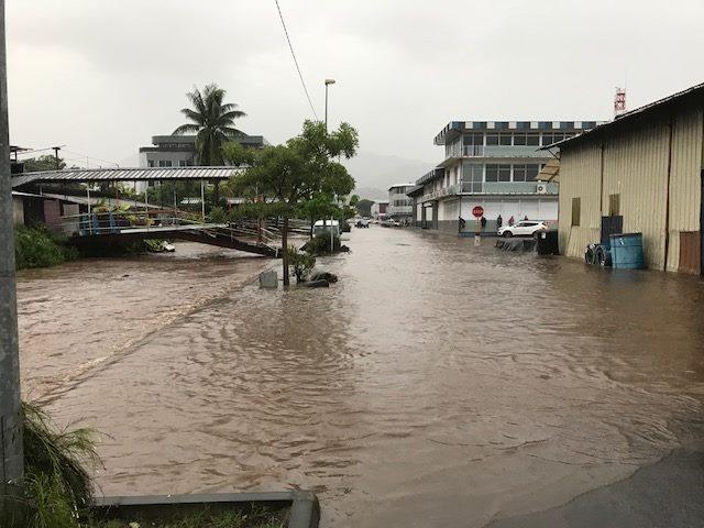 Appel à la vigilance en raison des fortes pluies