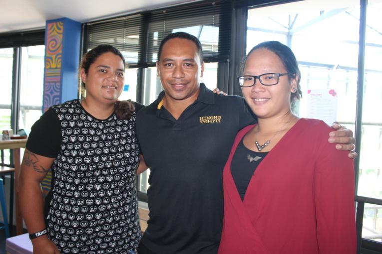 Hinenao Kimitete, Kohu Barsinas et Heirani Taiaapu, le trio qui se cache derrière Destination Marquises.