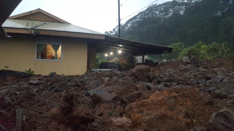 Bilan des pluies : éboulement important à Mahaena et des écoles fermées(...)