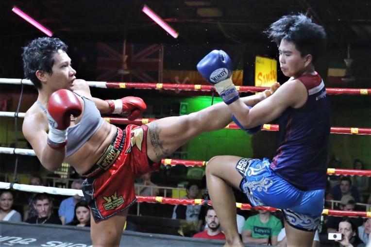 Après ses quatre victoires en Thaïlande, Anna va combattre en Nouvelle Zélande