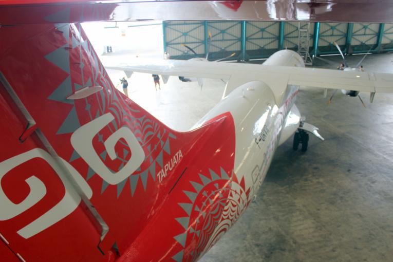 Air Tahiti tatoue son avion Tapuata