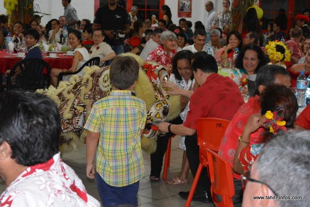Plus de 600 convives étaient présentes vendredi soir à la salle philanthropique.