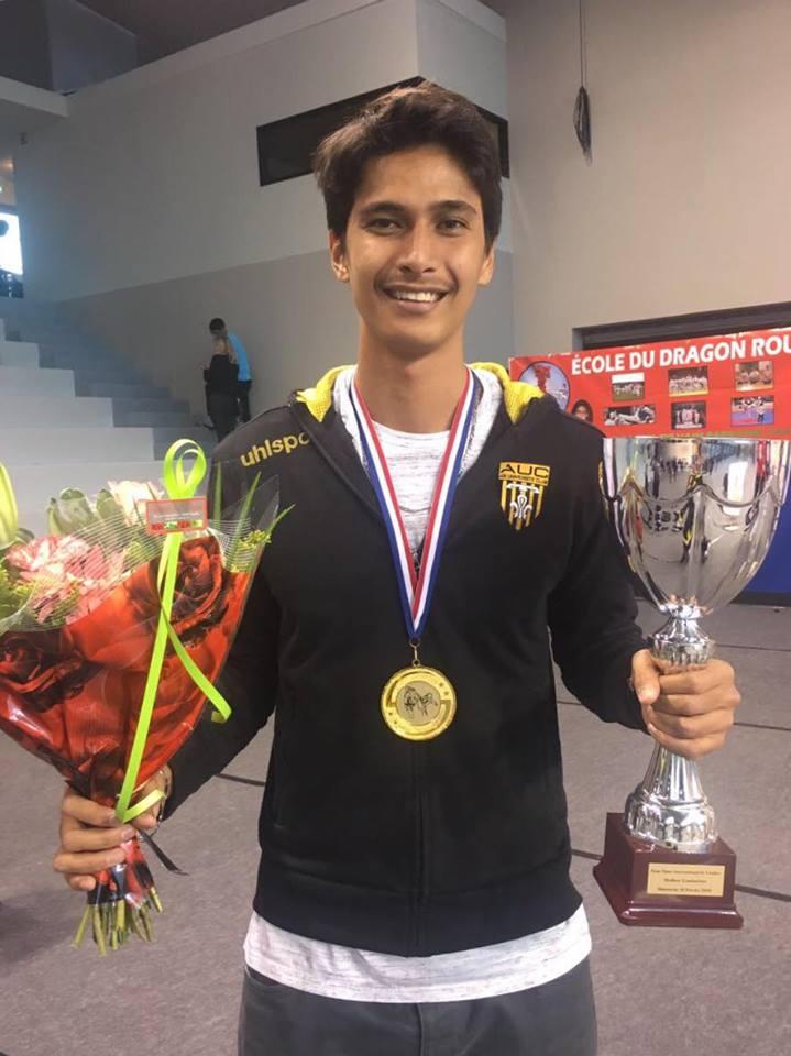 Taekwondo - Open International de Proville : Tuarai Hery, blessé, remporte(...)