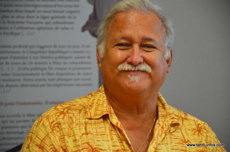 Le représentant des Tuamotu-Ouest Moehau Teriitahi est décédé jeudi des suites d'une longue maladie (Photo d'archives : JPV-septembre 2015).