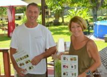 Elodie Cinqin-Beigbeder, vice-présidente de l'association Proscience et responsable du Projet Coccinelle, accompagnée de Régis Plichart, président de Proscience.