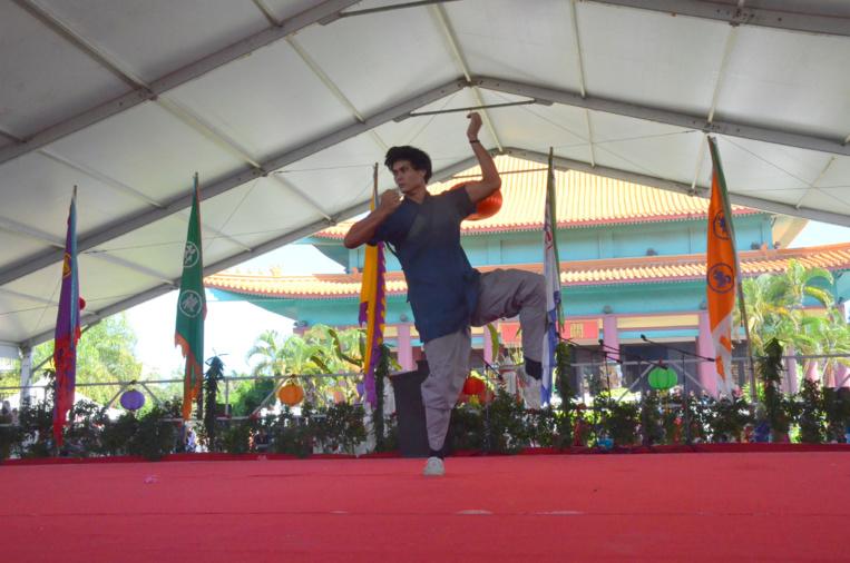 De nombreuses démonstrations d'arts martiaux auront lieu dimanche au temple Kanti.