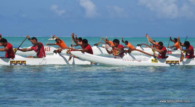 23 équipages ont participé, samedi, aux sélectives des clubs à Bora Bora.