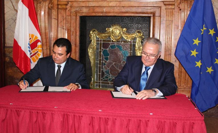 La Polynésie française signe la convention de financement du 11ème FED à Bruxelles