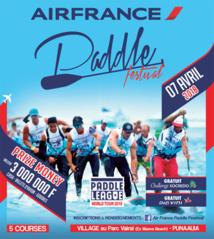Le Air France PADDLE FESTIVAL devient la 1ère étape du Paddle League World Tour 2018.