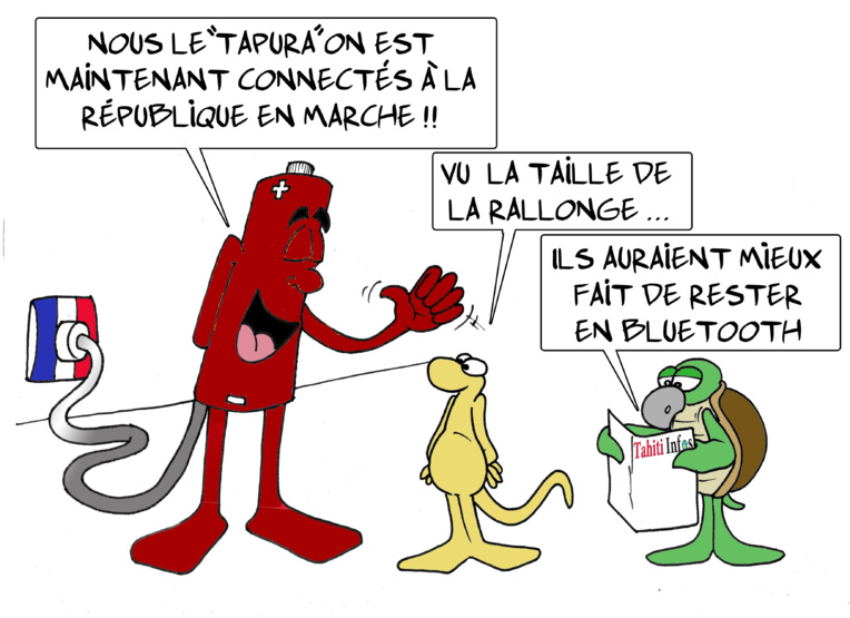 """"""" Le Tapura en marche """" par Munoz"""