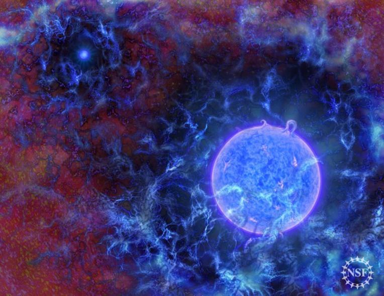 Détection de signaux liés aux premières étoiles de l'Univers