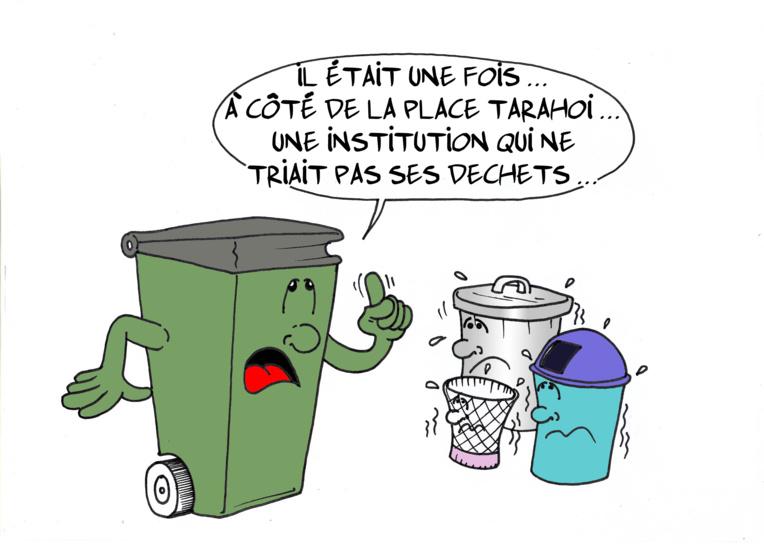 """"""" L'APF trie ses déchets """" par Munoz"""