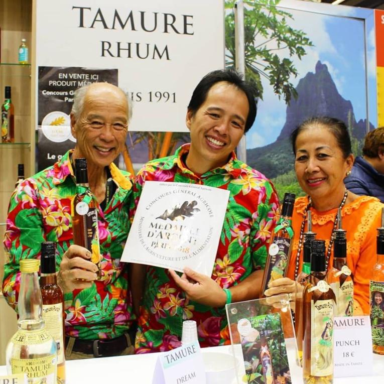 Tamure Rhum a décroché la médaille d'argent au Concours Général Agricole 2018 de Paris pour sa liqueur d'orange Tamure Dream.