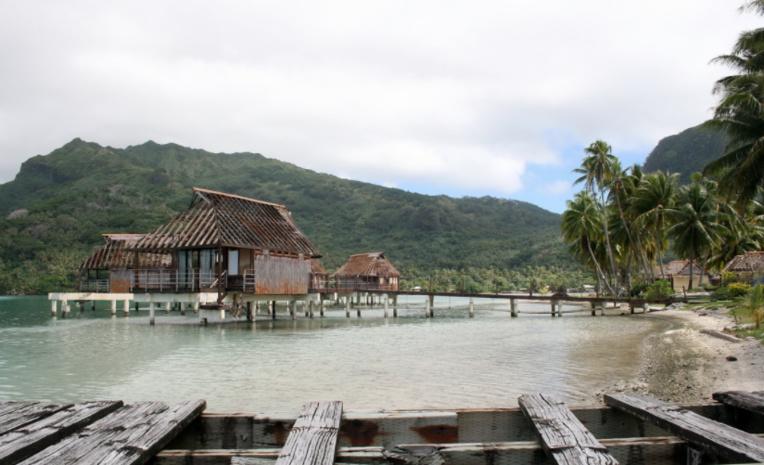 L'hôtel  Sofitel de Huahine est fermé depuis de nombreuses années