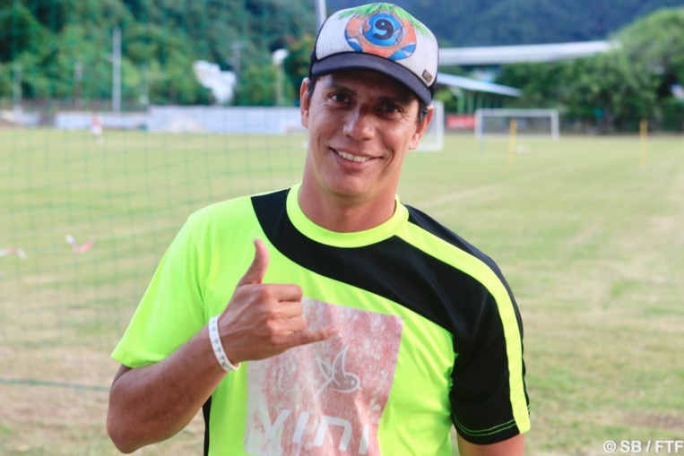Naea Bennett est devenu le coach de la sélection de Tahiti de foot à 11