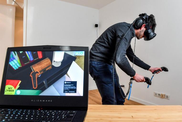 A Lille, un cocon de réalité virtuelle pour soigner les troubles cognitifs
