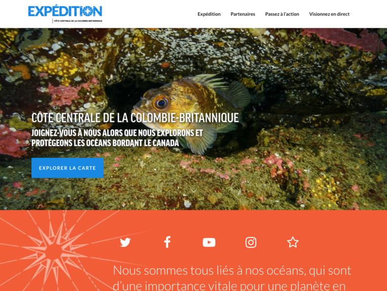 Canada: les secrets de fonds marins vierges dévoilés aux internautes