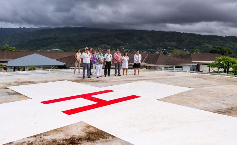 L'hélistation de Taravao sera mise en service en avril