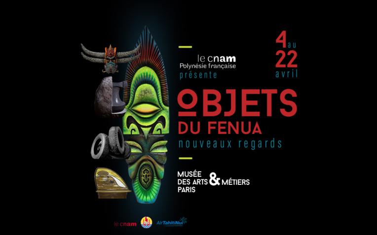 """L'exposition """"Objets du Fenua - Nouveaux regards"""" exposera à Paris 22 œuvres contemporaines créées par des artistes polynésiens."""