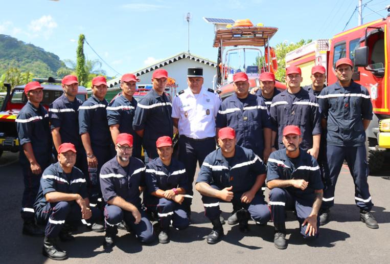 Nouveau véhicule pour les pompiers de Paea
