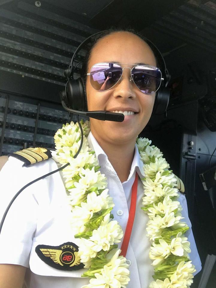 """Mahea Reid, 31 ans, pilote : """"On m'a beaucoup dit que c'était un métier d'hommes !"""""""