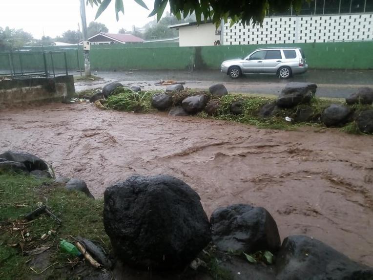 Faa'a : des écoles fermées après les fortes pluies