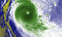 Alerte cyclonique sur les îles Loyauté en Nouvelle-Calédonie