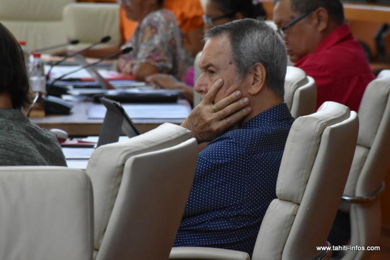 """Rony Tumahai : """"Je ne suis pas en train de faire du marchandage"""""""
