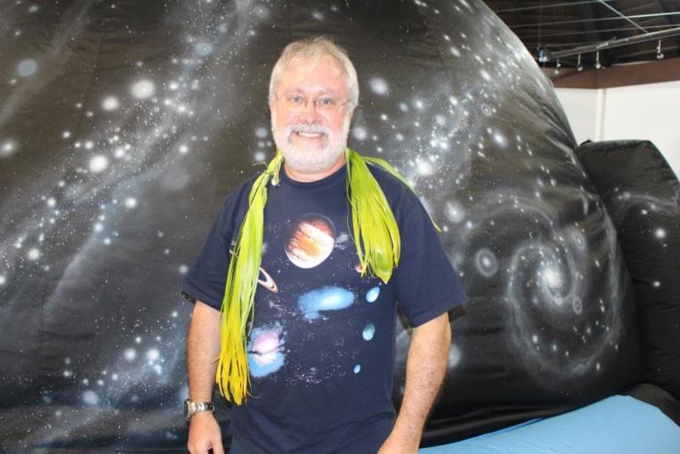 Les animateurs du nouveau planétarium opérationnels