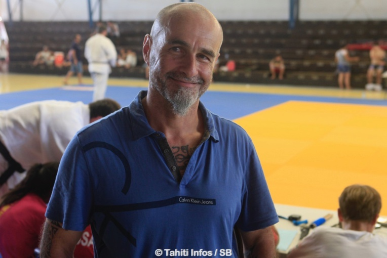 Bernard Di Rollo, président de la fédération polynésienne de judo