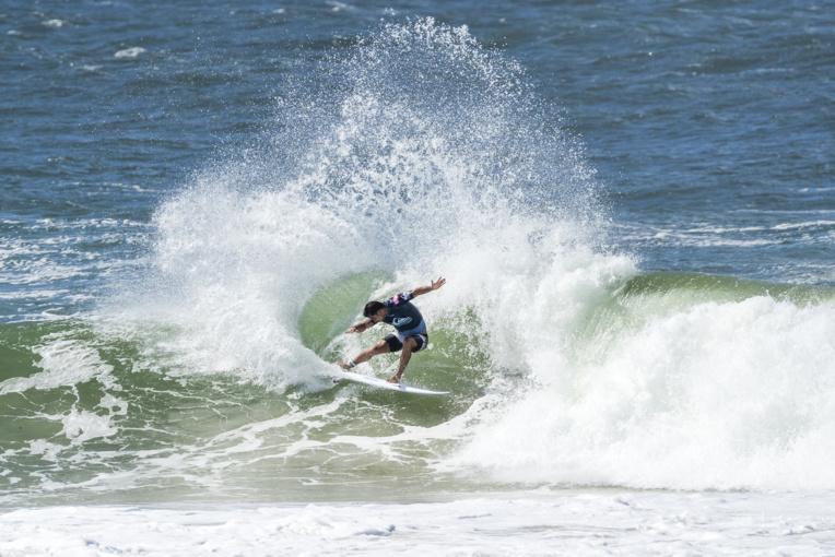 Un surf tout en puissance