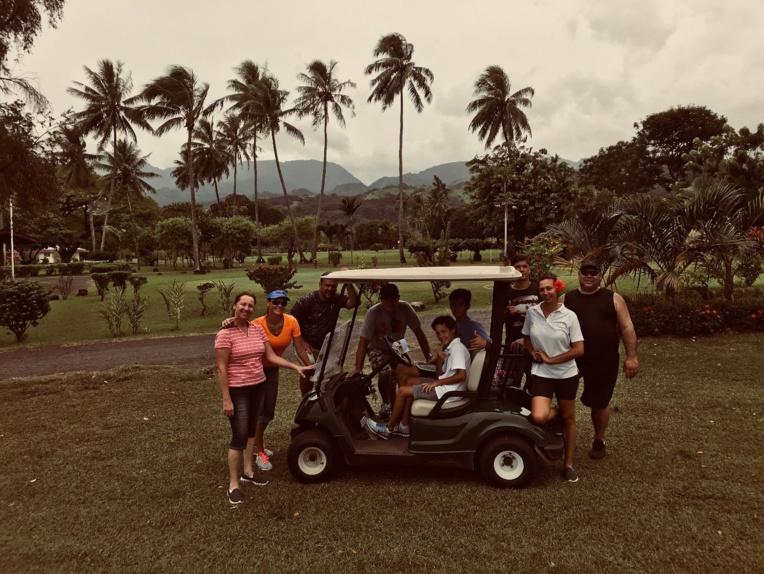 Journée Portes ouvertes : le golf d'Atimaono tente de populariser le sport