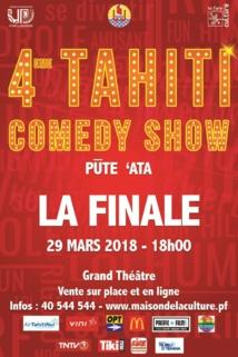 Tahiti Comedy Show : les finalistes en lice