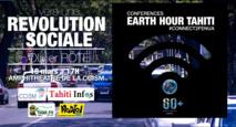 "Earth Hour Tahiti : ""Citoyens : Vers une révolution sociale en Polynésie ? """