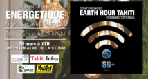 """Earth Hour Tahiti : """" Restez connectés avec la nature """""""