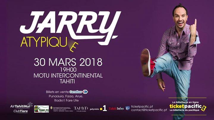 """L'humoriste Jarry sur scène à Tahiti : """"Venez rire, on en a besoin"""""""