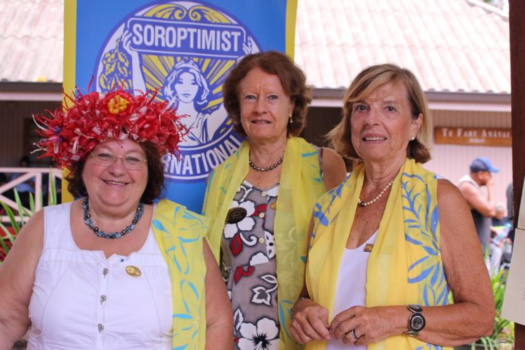 Le club soroptimist international de Tahiti sensibilise.