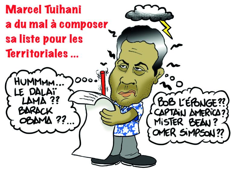 """ Marcel Tuihani "" par Munoz"