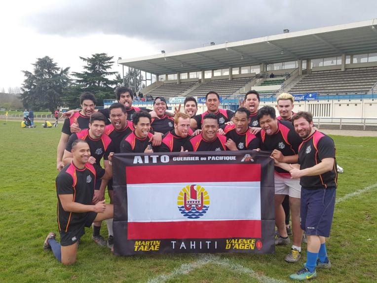 Les rugbymen tahitiens en métropole ont créé leur association