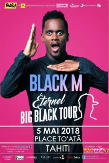 Black M en concert à To'ata le 5 mai