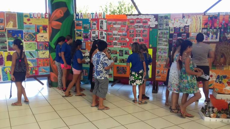 Punaauia : La semaine des écoles s'ouvre avec la rencontre poétique