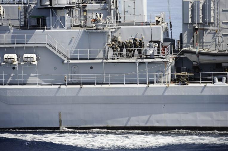 Saisie par la Marine d'une demi-tonne d'héroïne dans l'océan Indien