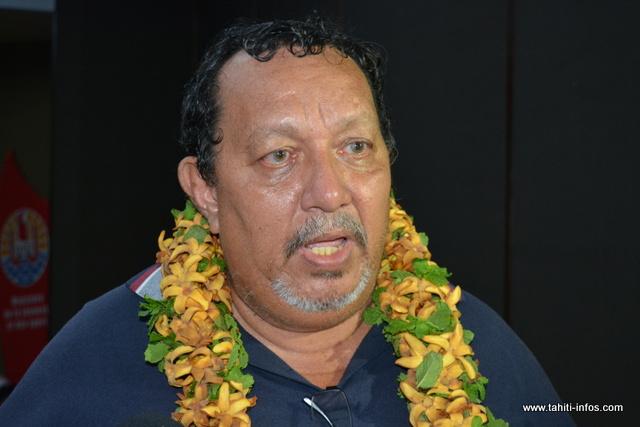 Louis Provost, président du COPF par intérim